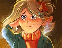 Magic Girl portrait