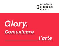 Glory - Comunicare l'arte.   Tesi