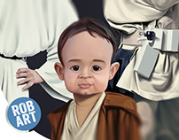 Star Wars Family Caricature