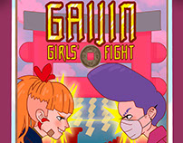 GAIJIN. Girls' fight