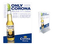 Corona Extra table tent