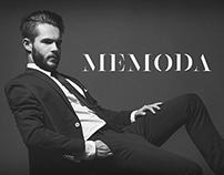 M E M O D A  logo & online store