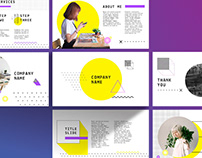 Yellow Keynote PPT Template