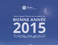 Printed Card: Happy New year 2015 For ITYCOM