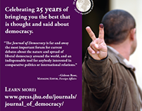 2014 Journal of Democracy Conference Poster