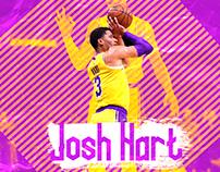 NBA - LAKERS - JOSH HART