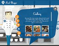 Food Blogger Website