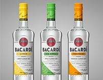 Bacardi CGI Bottles