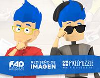Facultad de Artes Digitales Rediseño de Imagen 2017