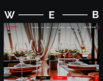 Web design | Front-end | Food | Restaurant