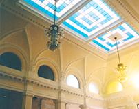 SZOMBATHELY RAILWAY STATION / interior design 2003