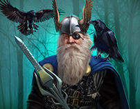 Norse mythology collection
