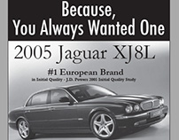 Jaguar Colorado Springs - Newspaper Ad