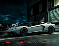 Automotive Visualizations for Big Boy Toyz