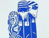 Snowboarder Screen Prints