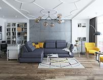 4 in 1 Livingroom+Cabinet+Diningroom+Kitchen
