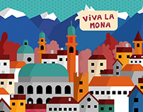 Vicenza Illustration Poster