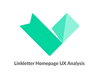 Linkletter Homepage UX Analysis