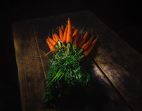 """I SHOW YOU """"MY ROOTS"""". carrot"""