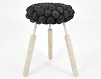 BLACK SHEEP stool