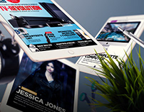 Lyd & Billede tablet magazine relaunch and redesign