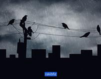 ভেজা কাক (wet crows)