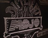 Chalk Art at Mojo Lab