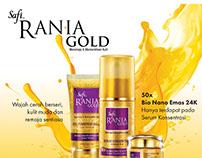 Safi Rania Gold | Print Ads
