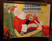 steelers xmas card