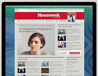 Newsweek.com - Redesign proposal