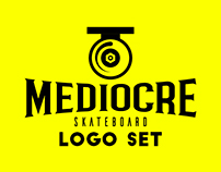 MEDIOCRE / LOGO SET