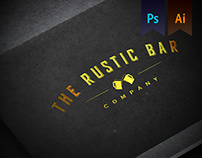 The Rustic Bar Company Logo Design
