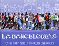 MESHROOM LA BARCELONETA PHOTO CUTOUTS