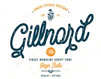 Gillnord Monoline Script Font (FREE Demo Version)