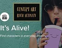 Concept Art Course - Rich Activity
