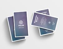 Polon - A Modern Business Card Template