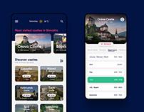 Castles on Slovakia | App concept