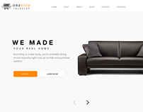 One Stop Interior Web Page