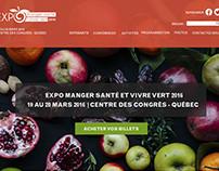 Expo manger santé et vivre vert (fictif)