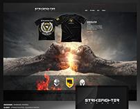 Strikefighter : Branding, Logo and Website Design