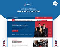Nish Education UI/UX Design