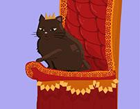 Quicc Cat Wit Crown