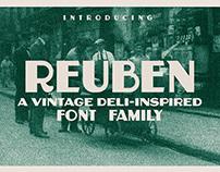 Reuben - A Vintage Display Font