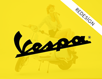 Vespa - Web Site Re-Design