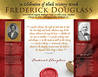 Frederick Douglass Exhibit