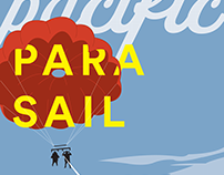 Pacific Parasail Poster