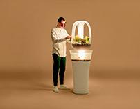 Eva - Modern Indoor Aquaponics Furniture