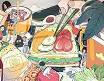 make a sandwish