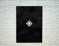 Simple Low-Poly poster