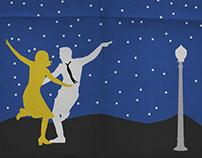 Oscar Nominees Minimalist Posters